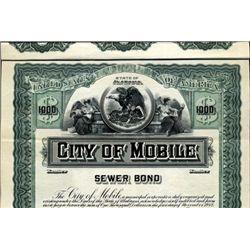Alabama. U.S. City of Mobile.