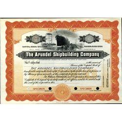 Maryland. U.S. Arundel Shipbuilding Company.