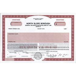 Alaska. U.S. North Slope Borough Municipal Bonds
