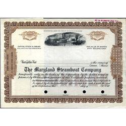 Maryland. U.S. Maryland Steamboat Co.