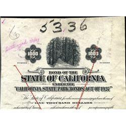 California. U.S. State of California