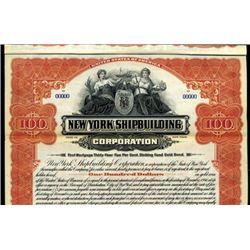 New York. U.S. New York Shipbuilding Corp.