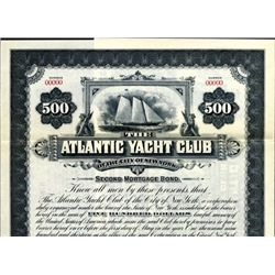 New York. U.S. The Atlantic Yacht Club of the City