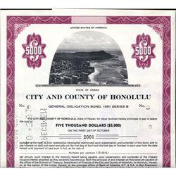 Honolulu, HI. U.S. City and County of Hololulu.