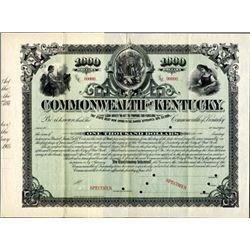 Kentucky. U.S. Commonwealth of Kentucky.
