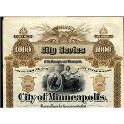 Minnesota. U.S. City of Minneapolis.
