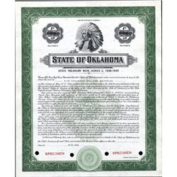 State of Oklahoma State Treasury Notes