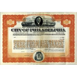 City of Philadelphia Bond Assortment  (7)