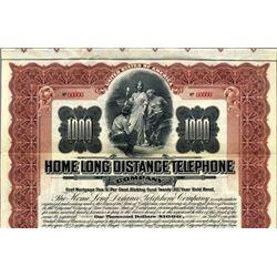 California. U.S Home Long Distance Telephone Co.