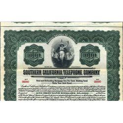 California. U.S Southern California Telephone Co.