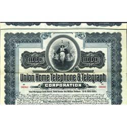 California. U.S Union Home Telephone & Telegraph