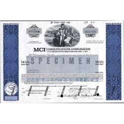 DE. U.S. MCI Communications Corp. Bond Assortment