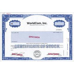 Georgia. U.S. WorldCom, Inc. Scam Certificate.