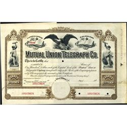 New York. U.S. Mutual Union Telegraph Co.