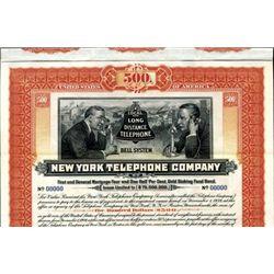 New York. U.S. New York Telephone Co.