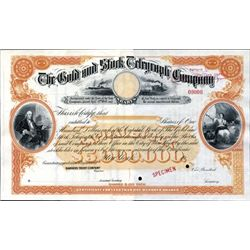 New York. U.S. The Gold and Stock Telegraph Co.