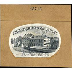 Trademark Vignettes Used on Letterheads & Labels