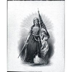 U.S. Allegorical Vignettes of Impressive Women