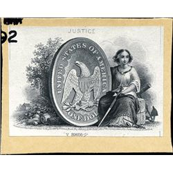 U.S. Coin Vignette Used on Obsolete Banknotes
