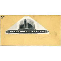 Sears-Roebuck & Co. Proof Vignette of Building