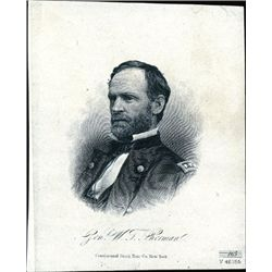Civil War General Vignette Portrait Group (10)