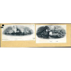 Civil War Naval Group - Monitor & Merrimac Battle