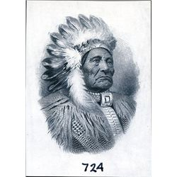U.S. Native American Indian Chief Vignettes