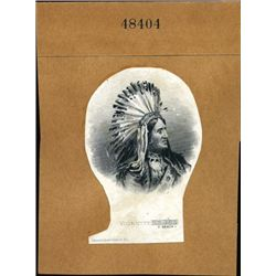 Native American Indian Chiefs and Braves Vignettes