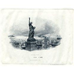 U.S. Statue of Liberty LDP Vignette.
