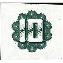 """Foreign Numeral """"10"""" Counters Used on Banknotes"""