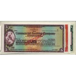 """England """"Specimens of Travelers Cheques"""" Booklet"""