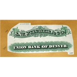 U.S. Colorado Bank and Business Title Proofs.