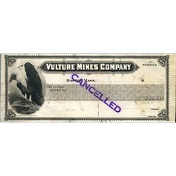Vulture, AZ. U.S. Vulture Mines Co. Proof Check.