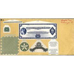 Republic National Bank of Dallas Traveler's Checks