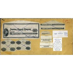 American Express Travelers Checks Ephemera