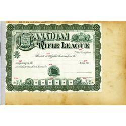Canada Canadian Rifle League.