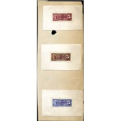 Union R.R.Co. Providence Proof Train Tickets