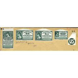 U.S. Liberty Loan Stamp Coupons.
