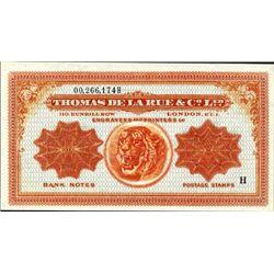 Thomas De La Rue & Co., Ltd. Ad Note