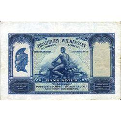 Bradbury, Wilkinson & Co. Ad Note