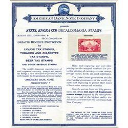 U.S. American BNC Miscellaneous Material.