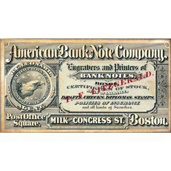 American BNC Advertising Business Card