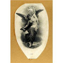 Western BNC Large Allegorical Female Vignettes