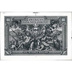 U.S. American BNC Advertising Banknote Litho.