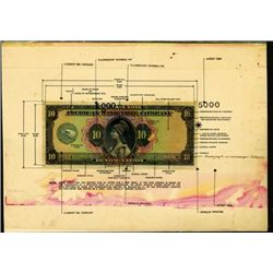 U.S. ABNC Advertising Note With Security Features