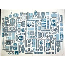 U.S. ABNC Large Format Vignette Sheet.