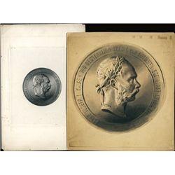 Original Artwork of Austrian Medallion & Vignette
