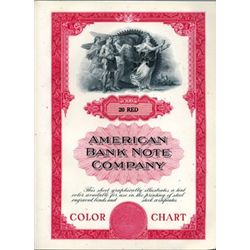 """ABNC """"Colors for Steel Securities"""" Sample Book"""