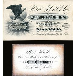 Peter Hall & Co. Business Cards