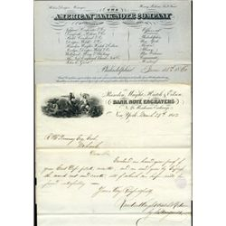 ABNC and RWH&E Letterheads